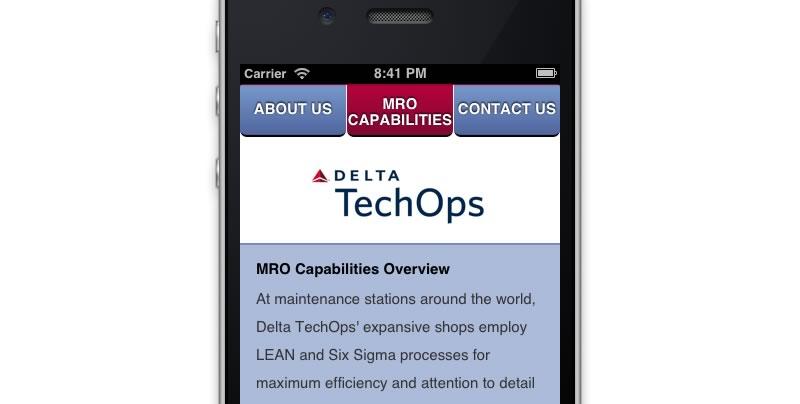 Delta TechOps Mobile